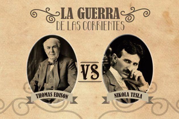 Tesla-vs-Edison-la-guerra-de-las-corrientes